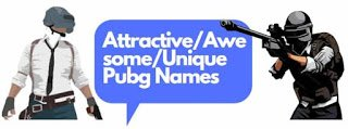 attractive_awesome_pubg_names